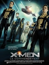 Affiche du film X-Men le commencement